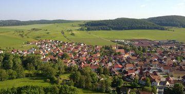 Vachdorf von oben