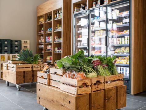 Dorfladen mit Gemüsetheke