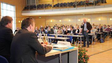 Veranstaltung des TLLLR auf der Messe Erfurt