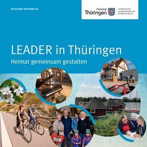 Deckblatt der LEADER-Broschüre