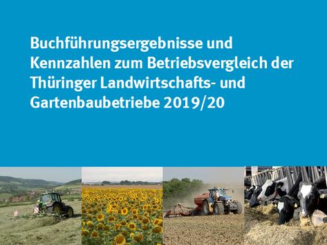 """Deckblatt des Berichtes """"Kennzahlen zum Betriebsvergleich"""""""