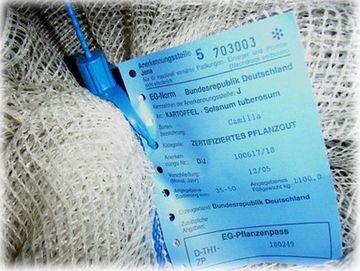 Amtliche Kennzeichnung und Verschließung