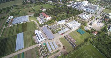 Luftaufnahme des Geländes des LVG