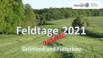 Link zum virtuellen Feldtag Grünland 2021