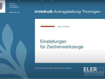 Screenshot von einem Schlungsvideo zur Antragstellung 2021