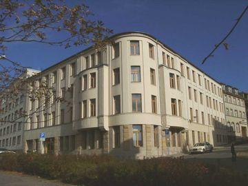 Dienstgebäude des TLLR in Gera