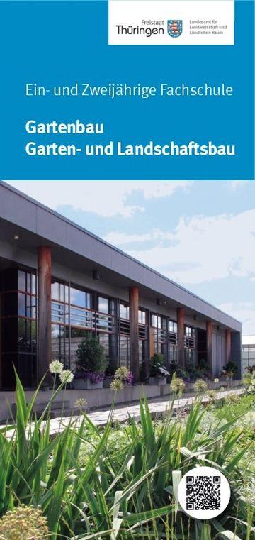 Informationsflyer Fachschule Gartenbau