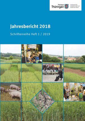 Deckblatt des Jahresberichtes