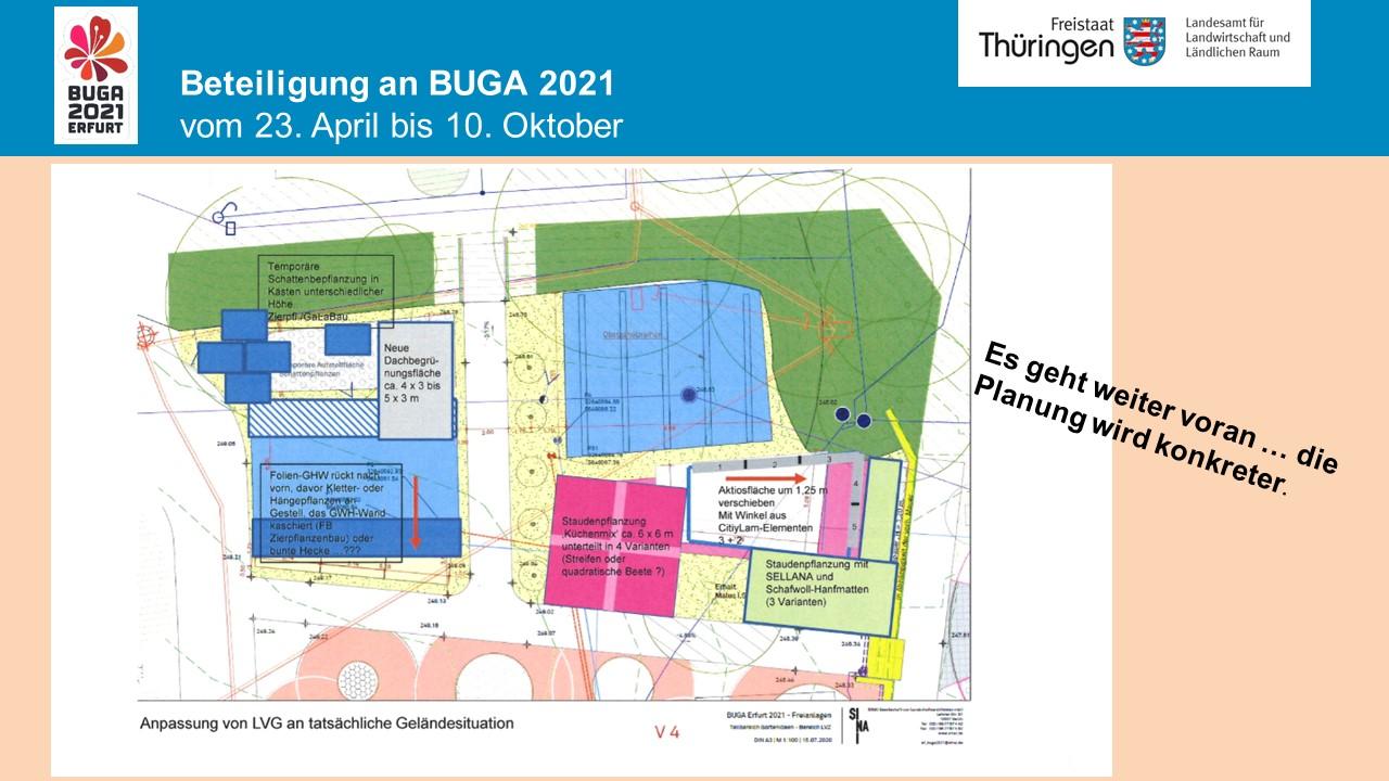 Planzeichnung Ausstellungsbereiche des LVG