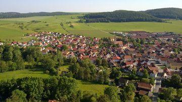 Vachdorf Landschaftsaufnahme