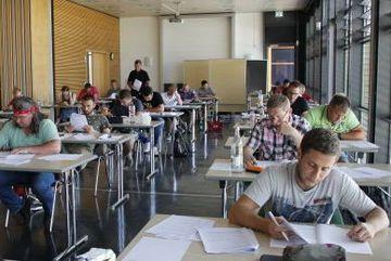Schüler in Klasse